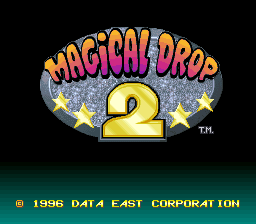 Magical Drop 2 (SNES)